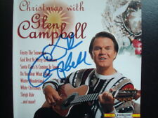 Christmas with Glen Campbell (CD)  SIGNED