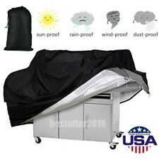 Extra Large Patio Cover Heavy Duty Waterproof Uv Protector Grill Bbq Cover Black