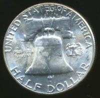 United States, 1959 Franklin Half Dollar 50c (Silver) - Choice Uncirculated