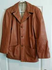 Vintage Gean Edwards Milwaukee Brown Leather Jacket