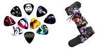 Star Wars 10 Pack Guitar Pick and Cotton Guitar Strap