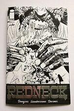 REDNECK #1 1 PER STORE B&W SILVER FOIL VARIANT IMAGE 1st Print NM