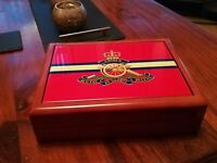 The Royal Artillery Regiment Gunners premium military medals and memorabilia box
