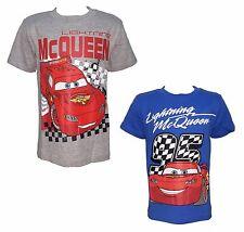 2 t-shirt mezza manica cotone CARS disney pixar art. 112775 grigio royal