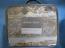 BED BATH AND BEYOND HARBOR HOUSE CASTLE HILL FULL/ QUEEN DUVET COVER 100% COTTON
