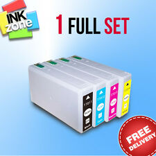 Full Colour Set of non-OEM Ink for EPSON WorkForce Pro WP-4545DTWF WP-4595DNF