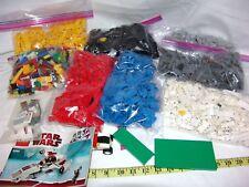 Lot 6 lbs Lego Sorted Colors Blocks Parts Pieces Bricks Bulk Mix 8085 star wars