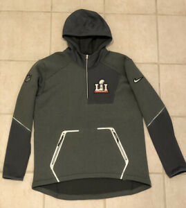 RARE Nike Super Bowl 51 LI Media Day Quarter-Zip Jacket Size Large SOLD OUT