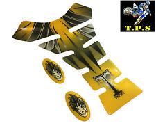 YELLOW WINGS MOTORCYCLE DECAL STICKER TANK PAD YAMAHA SUZUKI KTM HONDA KAWASAKI