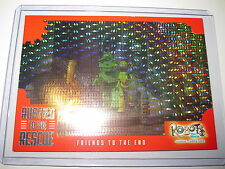 ROBOTS THE MOVIE RUSTIES TO THE RESCUE RARE HOLOFOIL CARD CHASE RR-1 MINT