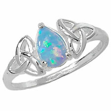 Anelli di lusso in argento sterling opale