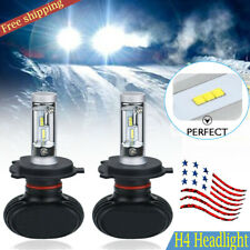 Bright H4 CSP LED Headlight Bulbs Replacement Kit High&Low Beam 8000LM 50W 6500K