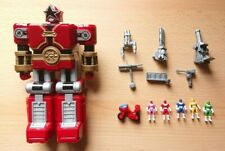 Power Rangers Zeo Red Battlezord Micro Playset Bandai
