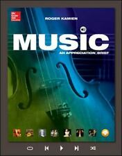 MP3 Download Card for Music: an Appreciation, Brief by Roger Kamien (2014, CD)
