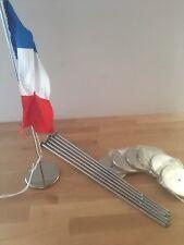 Tischflaggen Chrom