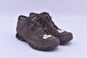 Women's Skechers Bikers - Totem Pole Lace Up Ankle Chukka Boots, Brown, 5.5