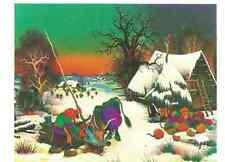 Postcard! I. VeCenaj - Vache à la fontaine - Kuh am Brunnen
