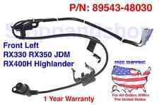 New ABS Wheel Speed Sensor for RX330 RX350 Highlander Front Left Driver Side JDM