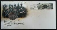 2018 50 Cents 1968 VIETNAM WAR Battles of Coral & Balmoral PNC Limited Issue