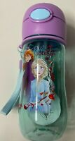 AUTHENTIC DISNEY FROZEN 2 WATER BOTTLE ANNA, ELSA, & OLAF SNAP LOCK LID NWT