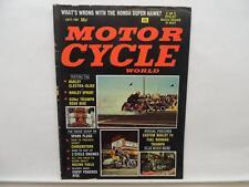 Sept 1967 Motorcycle World Magazine Honda Harley Sprint SS H Triumph L11030