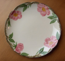 Franciscan Desert Rose RARE coupe dessert plate #1~1970's~Made in California-NR