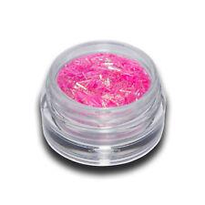Mini Flitter Rosa Glitter Fäden Nail Art #00204-04