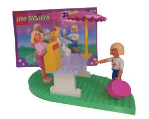 Lego 5830 Belville Fun-Day Sundaes Ice Eisdiele mit 2 Figuren von 1995 & BA