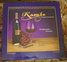 Karafe board game Learn about wine new sealed 3 - 6 players
