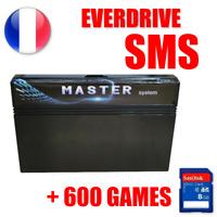 Cartouche EverDrive Sega Master System + SD 8GO 600 jeux region free