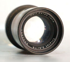 Ultra Rare Carl Zeiss Jena Triplet F2.8 75mm Projection Lens