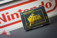 VINTAGE 1998 NINTENDO 64 N64 THE LEGEND OF ZELDA OCARINA OF TIME GAME PAL BOXED