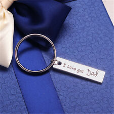 I Love You Dad Keychain Father's Day Gift