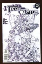 Teen Titans #1 Near Mint 2003 Sketch Variant Dc Comics bin-2017-3093