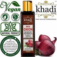 Khadi Global Red Onion Hair Oil for Hair Growth 200 ml