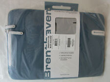 "Brenthaven Prostyle Sleeve Case Bag for 13"" Laptop Tablet Macbook Blue Shadow"