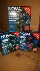 Noma 360 INDOOR/OUTDOOR LEDS WHITE, WARM WHITE, COLOURED