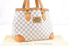 Auth Louis Vuitton Damier Azur Hampstead PM Shoulder Tote Bag N51207 LV 54936