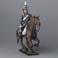 "Tin soldier, Officer of the hussar regiment ""Hussars of death"" 54 mm"