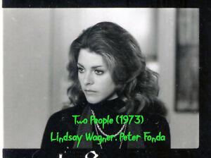 TWO PEOPLE (1973)  Lindsay Wagner, Peter Fonda On-Set 8x10 Proof Sheet Photo #20