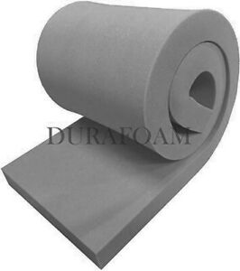 "DURAFOAM™ 60"" x 20"" upholstery foam sheets ¼"" ½"" ¾"" 1"" 1½"" 2"" 2½"" 3"" 4"" 5"" 6"" 7"""