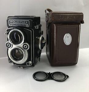 Rollieflex Xenotar F3.5 75mm Camera