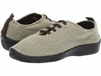 Arcopedico Women's LS Knit Lace-Up Lightweight Vegan Shoes - Green Earth