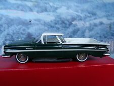 1/43 Zaugg Empire models (Switzerland)  Chevrolet El Camino 1959