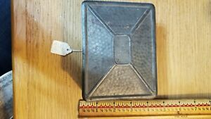 Metal Box With Square Nails, Vintage