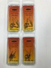 """1"""" - 8 Gold Flutter Spoons Fern Creek Lures Shad, Trout, Pan Fish"""