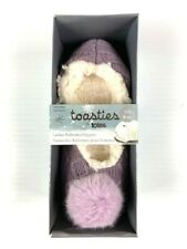 Women's TOASTIES by TOTES Ballerina Slippers Size 7-8