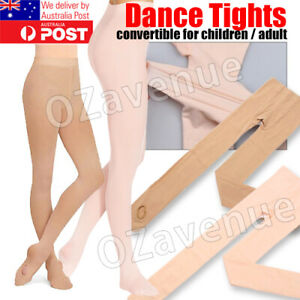 CONVERTIBLE TIGHTS DANCE STOCKINGS BALLET PANTYHOSE SIZE CHILDREN & ADULT COLORS