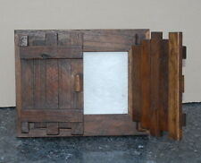 """Photo Frame wooden 5""""x 7"""" Driftwood Recycled teak Rustic Shabby Chic"""