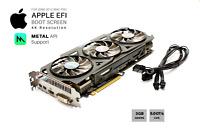  Gigabyte R9 280x OC 3GB GPU for Apple Mac Pro w/EFI, Boot screen, METAL and 4K